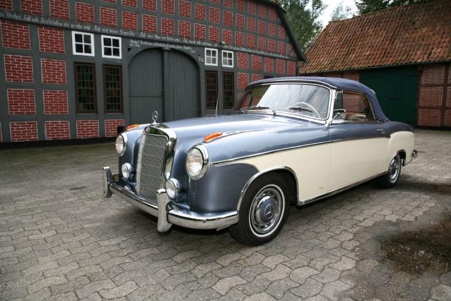 Wunder-Sänfte Mercedes 220 SE Cabriolet 1960