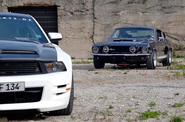Mustang Ekstase – 68er Fastback trifft GT Velocity Edition