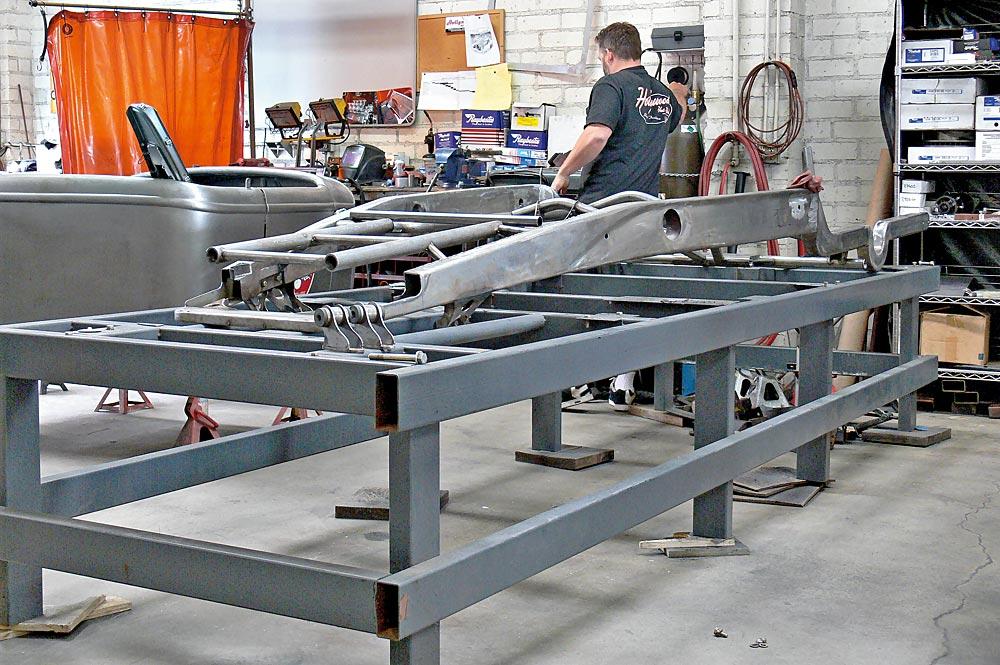 Kfz werkstatteinrichtung selber bauen  Hollywood Hot Rods | TRÄUME WAGEN