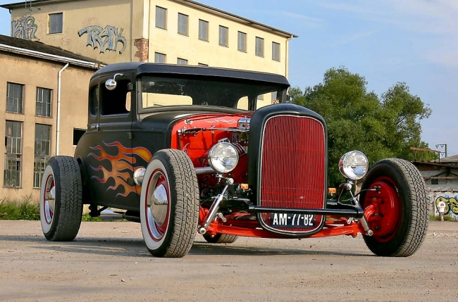 Ford Model A Coupé 1930 – Perrys Hot Rod