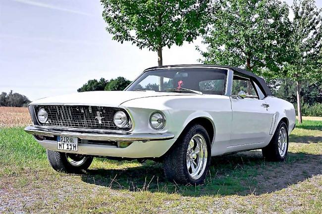 69er Mustang Cabrio – Der Phoenix aus der Asche …