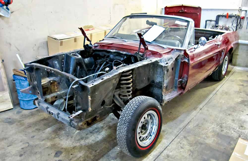 Ford Mustang Fastback Karosserie Auto Bild Idee