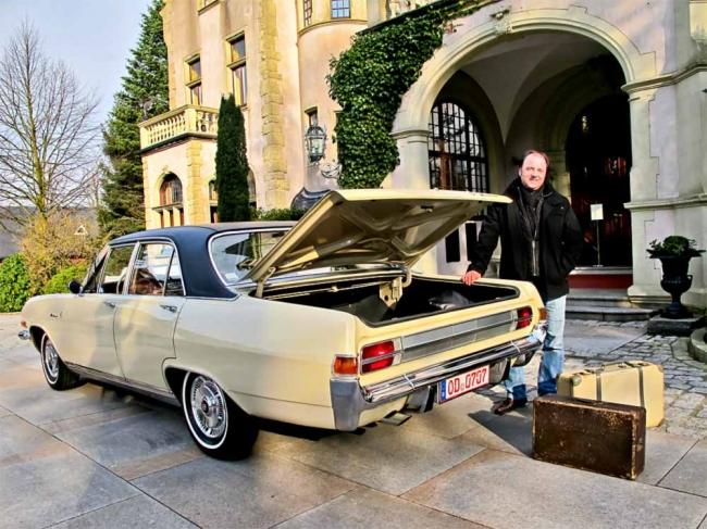 Der große Bruder von Kapitän und Admiral … Opel Diplomat
