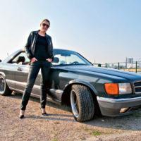 Mercedes-Benz 420 SEC W126 – Lady C. auf Sternfahrt