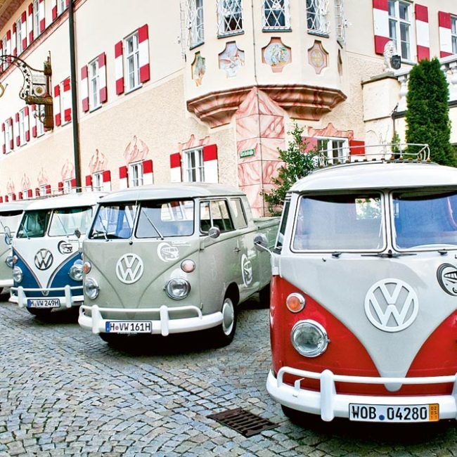 VW T1 Oldtimer Alpentour – Red Bulli