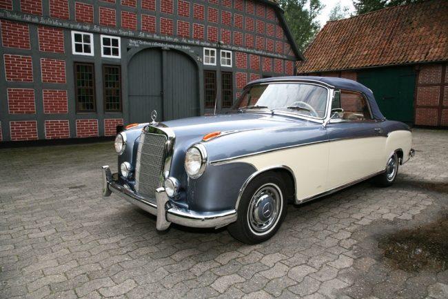 Wunder-Sänfte Mercedes 220 SE Cabriolet 1960 (W111)