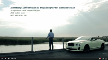 Bentley Continental Supersports High-Speed Test 300 km/h