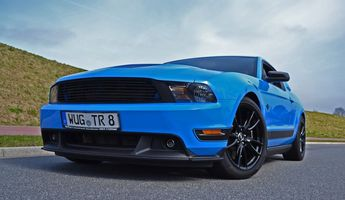 Ford Mustang GT – unser Verlags-Pony