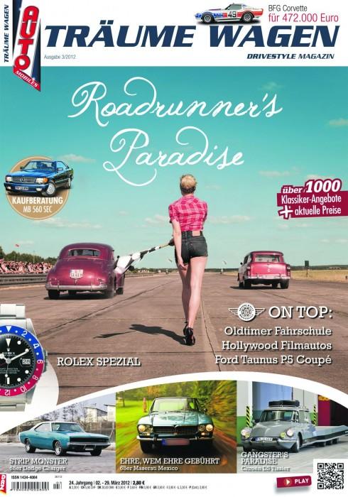 Editorial TRÄUME WAGEN 03/2012