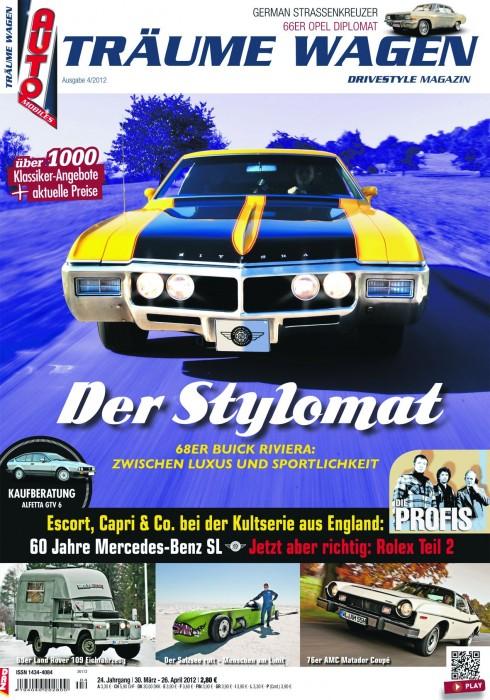 Editorial TRÄUME WAGEN 04/2012