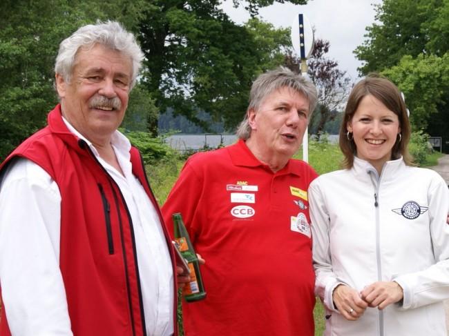 Klaus Hartjen, Erich Günther und Bente Heyer sorgen für Kommunikation!