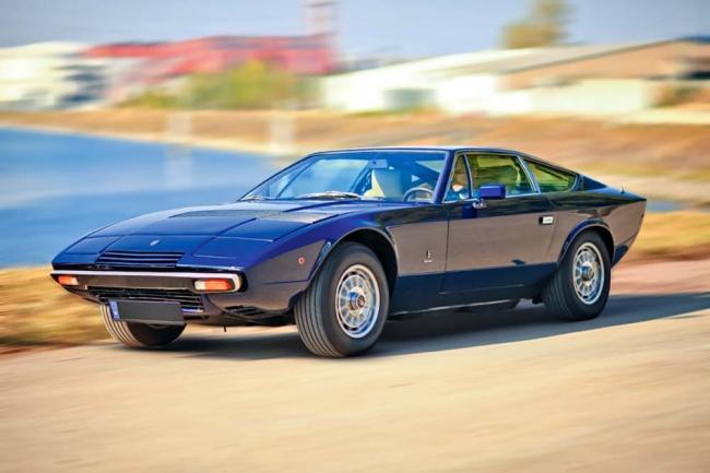 Vergessene Stilikone – Maserati Khamsin