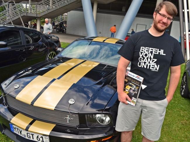 Der Fan und sein Auto