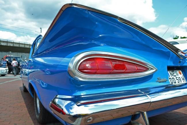 Impala-Flossen, quer statt hoch