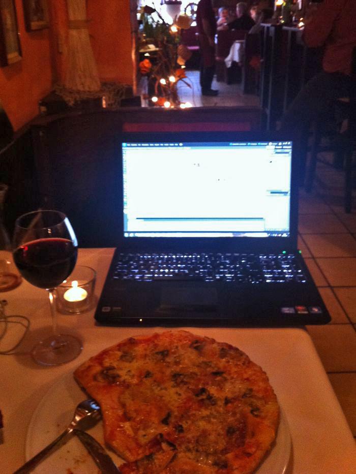 Working-Dinner beim Italiener
