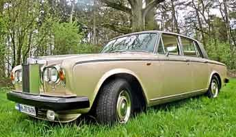 Rolls-Royce Silver Shadow – Champagner bitte!