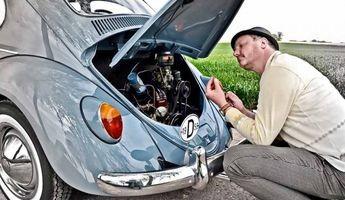 1958er VW Käfer: Fehlt Ihnen was?