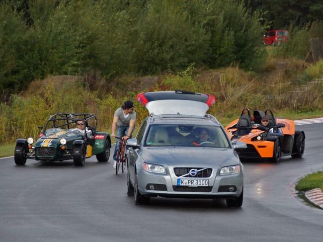 Pace Car mit Kameramann