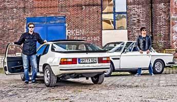 BMW 3.0 vs. Porsche 924 – Mobile Analogien