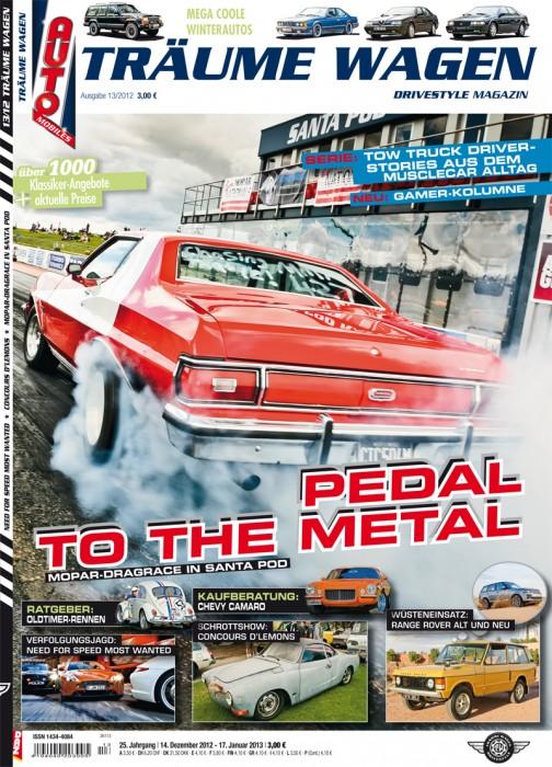 Editorial TRÄUME WAGEN 13/2012