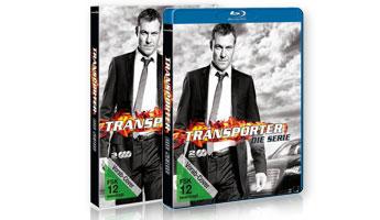 Gewinne eins der 10 Blu-ray oder DVD Packs von TRANSPORTER die Serie