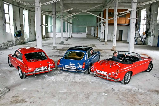 MGB GT, Plant-MGB GT V8 und MGB Roadster MK II