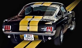 1966er Hertz Ford Mustang Fastback