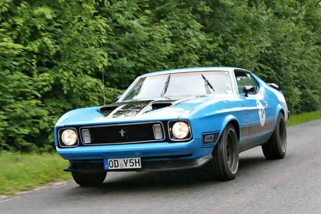Mustang Mach 1 - Fahrer: Marco Wendlandt, Beifahrer: Sebastian Stoll