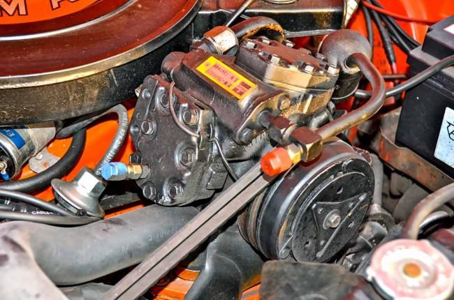 """Kein """"Charger"""" für den Motor im Charger, sondern ein Kompressor für die Klimaanlage, die hoffentlich funktioniert"""