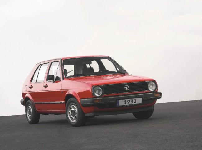 Der VW Golf II wird zum Oldie