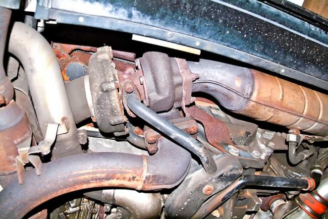 """Macht mächtig Druck: Der Turbolader will allerdings nach längerer """"Hetzjagd"""" heruntergekühlt werden. Sonst verkokt das Motoröl in den Lagern"""