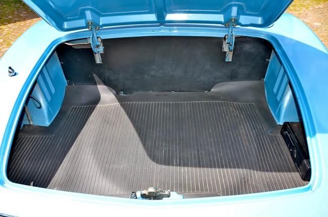 Der Kofferraum bietet mehr Platz als nur fürs Wochenendgepäck