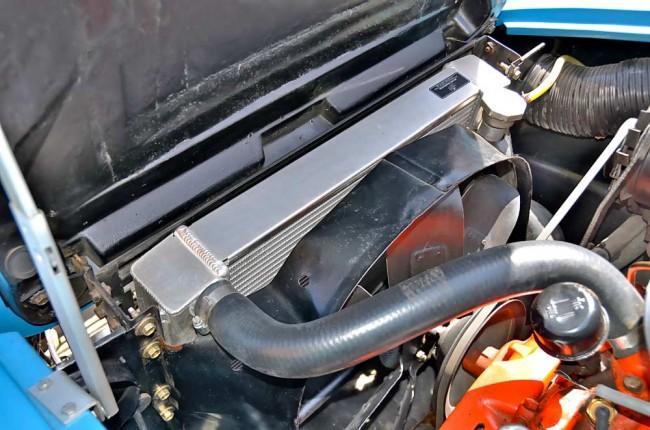 So ein Aluminium-Hochleistungskühler hält die Vette garantiert thermisch im gesunden Bereich