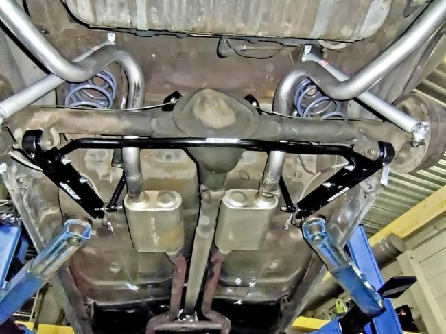 Fahrwerk, Upgrade: Rennsport-Zubehör statt Aufarbeitung im GM-A-Body