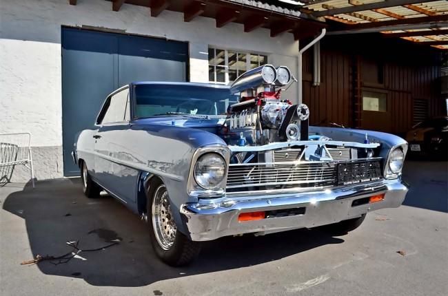Chevy Nova 1966 - Herzpatient mit sechs Leben