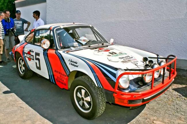 Gehört Porsche: das originale Waldegaard-Safari-Auto von 1978