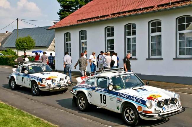 Gemeinsam sind sie noch stärker: Kurzenbergers Safari-Porsche als Zwillinge