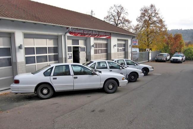 Das Auto in der Mitte ist Unit 339 aus Mountain View in Kalifornien – eins von gleich mehreren Autos aus diesem Ort, die nach Deutschland exportiert wurden