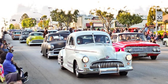 Für die meisten Fans und Fahrer ist das Cruising die Hauptattraktion in Santa Maria