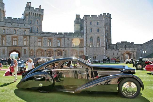 Eines von 60 Highlights: der unglaubliche Rolls-Royce Phantom, I Jonckheere Coupé mit Chassis von 1925 und Karosserie von 1935. Natürlich ein Einzelstück