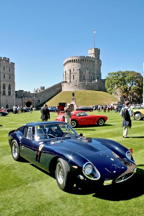 Wo die schönsten Autos stehen, darf er nicht fehlen: Ferrari 250 GTO. Ein makelloses Exemplar  wie die meisten der gezeigten Exponate