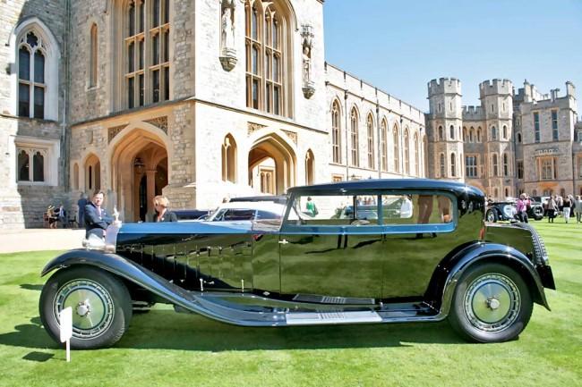 """Wenn schon ein Auto """"Royale"""" heißt, darf es nicht fehlen: Bugatti Type 41 Royale Kellner Coupé"""