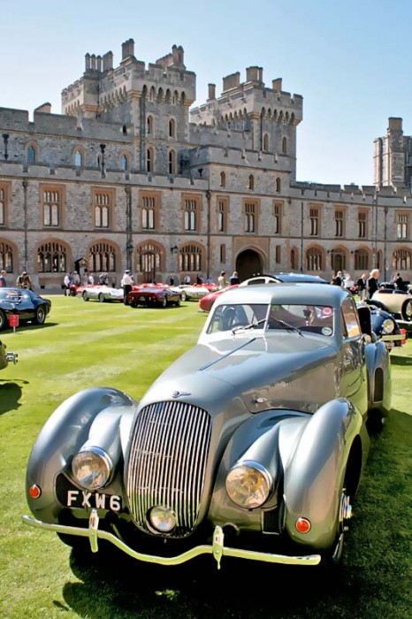 God drive the Queen - Concours of Elegance auf dem Gelände des Windsor Castle