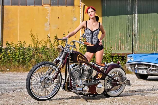 Harley-Davidson FL 56 Bobber