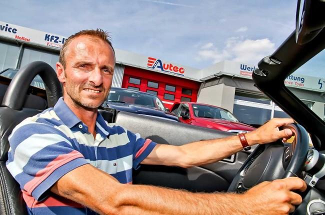 Andreas Hix gilt nicht nur als ausgewiesener Kenner der amerikanischen Autokultur, sondern hat sich auch beim Import von US-Cars überregional einen Namen gemacht