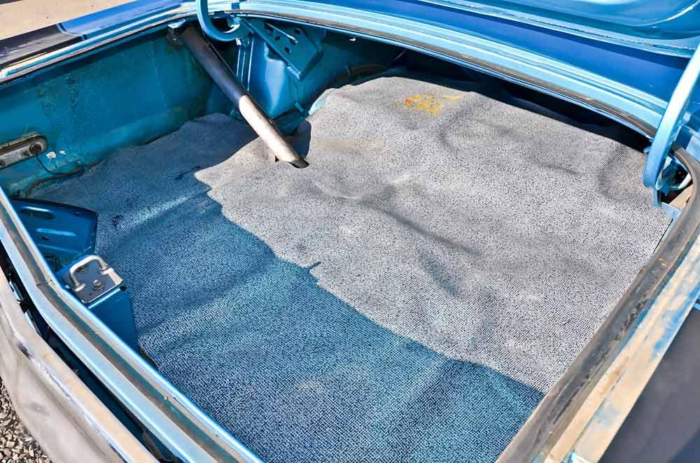 Küchenfussboden Pvc ~ wie großmutters küchenfußboden wirkt die billige pvc auslegeware im kofferraum träume wagen