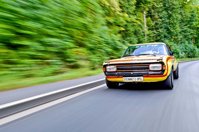 Opel Commodore 3000 Steinmetz – Die gelbe Gefahr