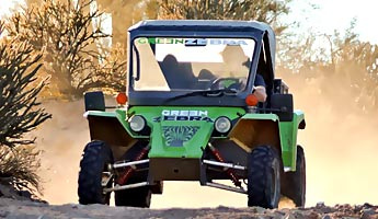 Tomcar-Driving in Scottsdale – Wüste Karre