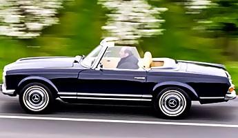 Auszeit mit der Mercedes Pagode