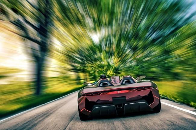 Rezvani-Beast-road